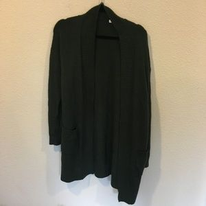 BP dark green cardigan